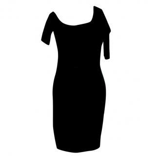 Helmut Lang shoulder bodycon dress