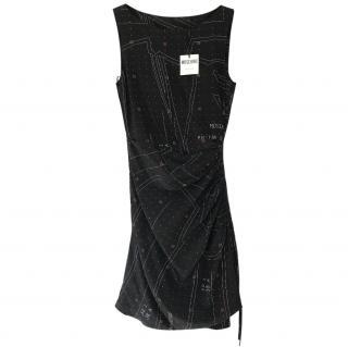 Moschino Couture Silk Mini Dress