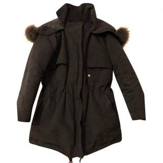 The Kooples Black Parka