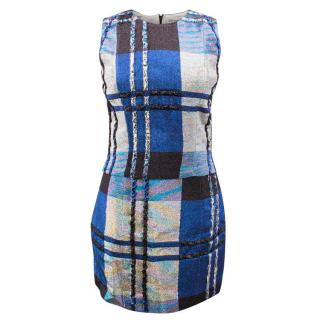 Christian Dior Metallic Top and Skirt Set