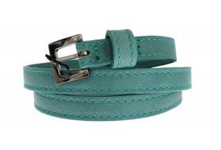Dolce & Gabbana Turquoise leather  Belt