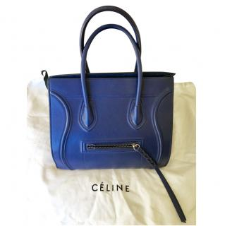 Celine Phantom Luggage bag Cobalt Blue