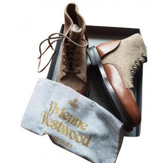Vivienne Westwood army desert boots