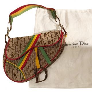 Dior Rasta Saddle Bag