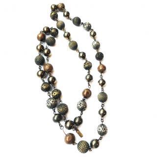 Yves Saint Laurent Beds Necklace