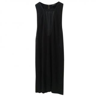 Joseph little black fitted dress