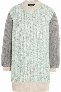 Jonathan Saunders Grey Wool-blend Jumper
