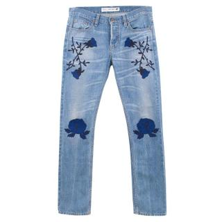 Bliss and Mischief x NSF Embroidered Jeans
