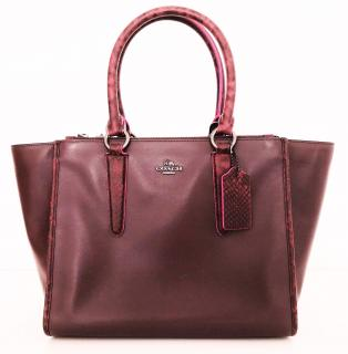 Coach Exotic leather Crosby bag