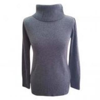 Max Mara virgin wool and cashmere roll neck jumper