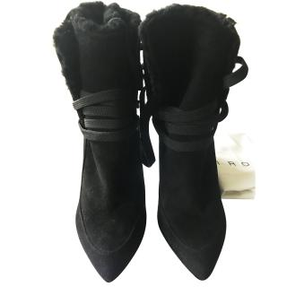 Iro Black Ankle Boots