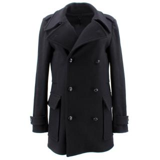 Joseph Black Wool Coat
