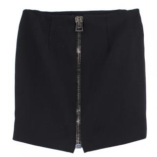 Tom Ford Mini Skirt with Large Back Zipper