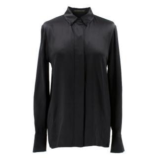 Alexandre Vauthier Silk Satin Shirt