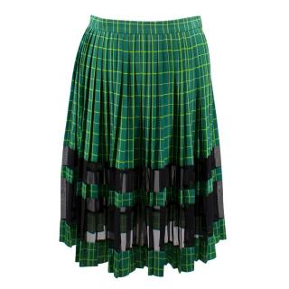 Jonathan Saunders Josephine Silk Pleat Skirt
