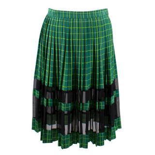 Jonathan Saunders Josephine Silk Pleat Skirt