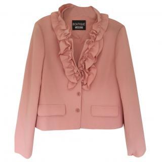 Moschino Pink Ruffle Jacke