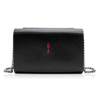 Christian Louboutin Vanite Small Clutch Velvet Crystal