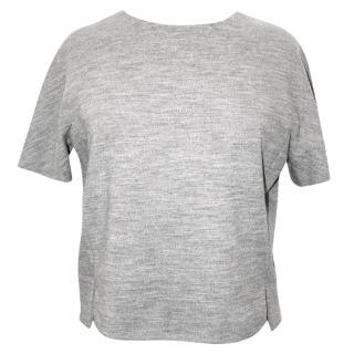BALENCIAGA grey top, size 36