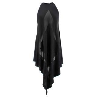 Balmain Sheer Knit Dress