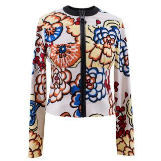 Louis Vuitton Multicoloured Floral Patterned Jacket