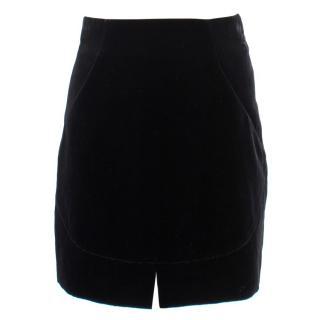 Roberto Cavalli Velvet Mini Skirt