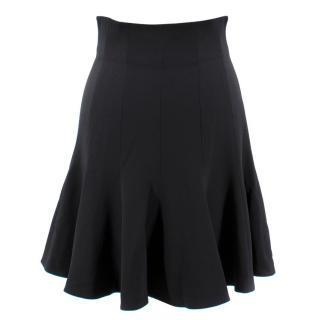 Dolce & Gabbana Black Flared Skirt