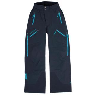 Peak Performance Navy Blue Snow Pants