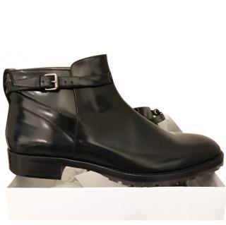 Valentino Men's Black Patent Boots