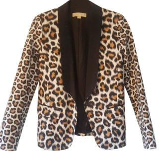 Michael Kors Animal Print Blazer