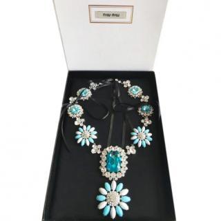 Miu Miu flower necklace