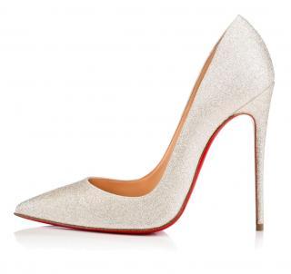 Christian Louboutin So Kate 120 Glitter Shoes