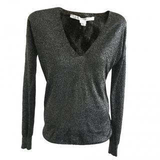 Diane Von Furstenberg Ania Bis Sweater size S