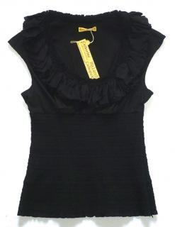 Catherine Malandrino Black Top NEW