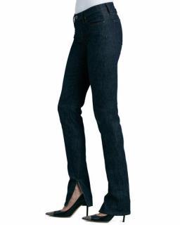 A.N.D. Jackson ciggie dark indigo jeans w split size 14