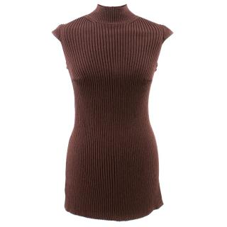Celine Wool Backless Top