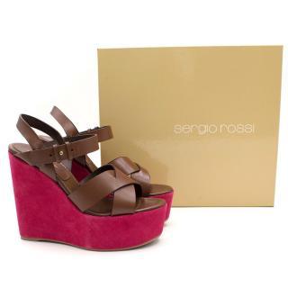 Sergio Rossi Scarpe Donna Wedges Sandal