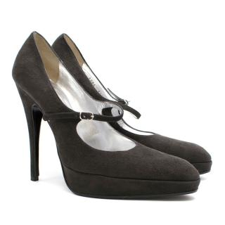 Dolce and Gabbana pointed High Heels with strap