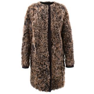 Dolce and Gabbana Kalgan Lambskin Coat