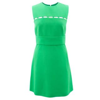Emilio Pucci Cutout Green Dress