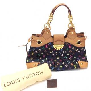 Louis Vuitton Black Multicolor Monogram Canvas Bag