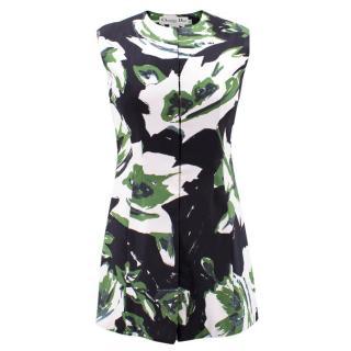 Christian Dior Sleeveless Patterned Waistcoat
