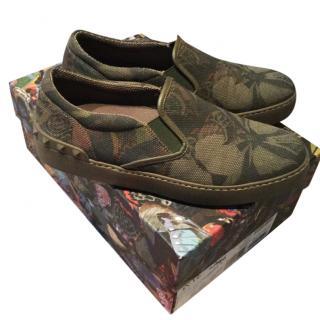 Valentino slip on shoes