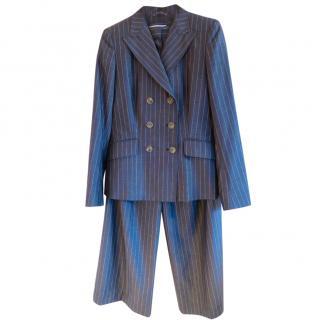 Max Mara pinstriped suit