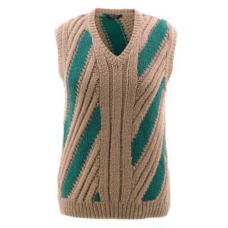 Prada Handmade Sleeveless Cashmere Jumper