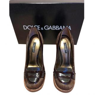 dolce & gabbana pony shoes