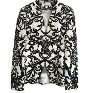 Alexander McQueen Black/White Jacket