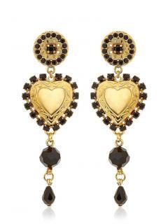 Dolce & Gabbana Heart Earrings