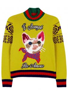 Gucci L'Aveugle Par Amour Sweater
