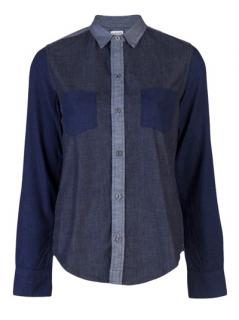 J Brand 1099 Daria Chambray Shirt